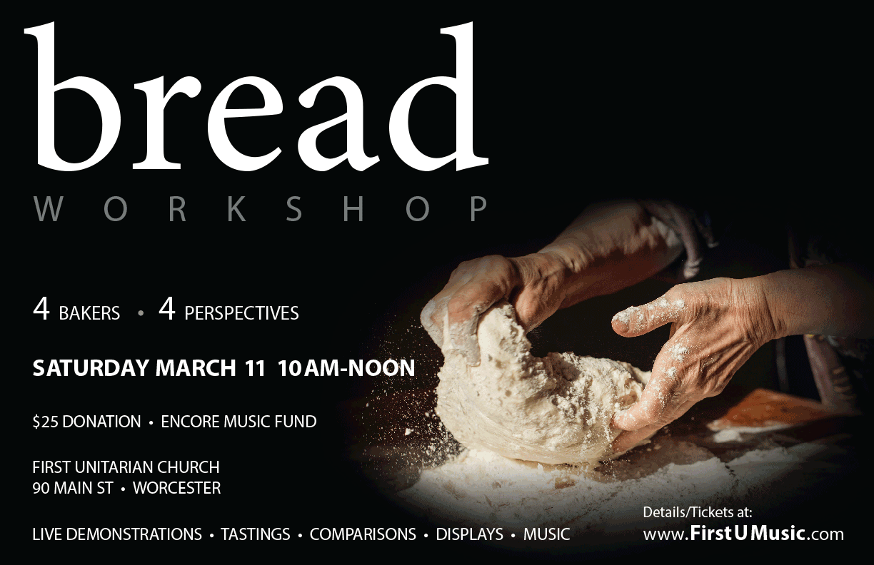 Breadmaking workshop - demonstrations